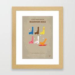 No069 My Reservoir Dogs MMP Framed Art Print
