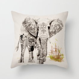 Tattoo Me Throw Pillow