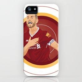 Jordan Henderson iPhone Case