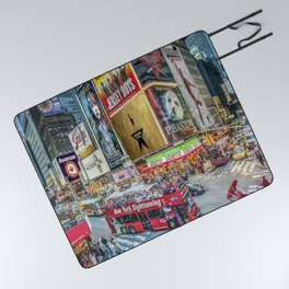 Times Square II Special Edition I Picnic Blanket