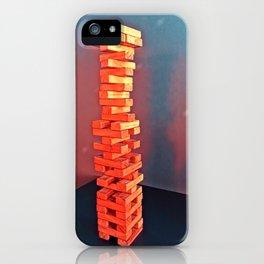Disco Jenga  iPhone Case