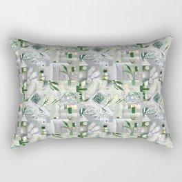 green_pattern Rectangular Pillow