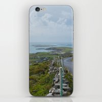 ireland iPhone & iPod Skins featuring Ireland by ARTIFACT