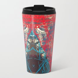 FX#505 - Kryptonian Oblongated Lines Travel Mug