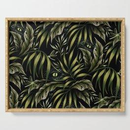 Jurassic Jungle - Camo Green Serving Tray
