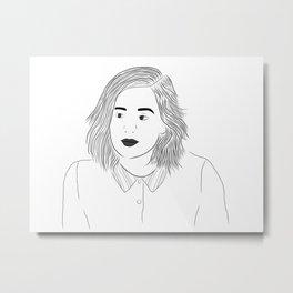 Noora Metal Print
