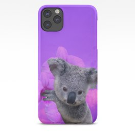 Koala and Orchid iPhone Case