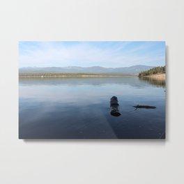 Lake Koocanusa Metal Print