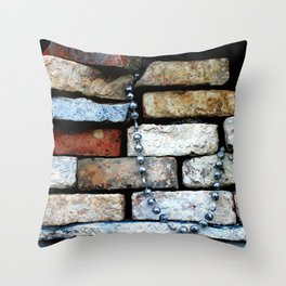 fancy kind of death Throw Pillow