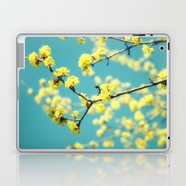 Yellow Spring blossoms Laptop & iPad Skin
