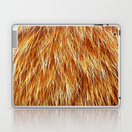 Ginger Red Hair Animal Fur Pattern Laptop & iPad Skin