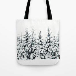 Snow Porn Tote Bag