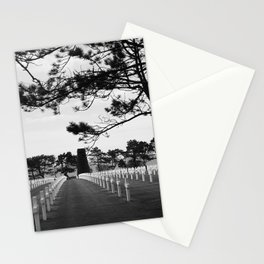 American War Cemetery 3b Stationery Cards
