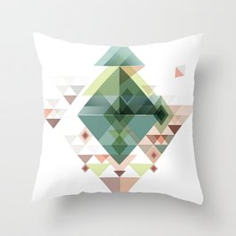 Abstract illustration Throw Pillow