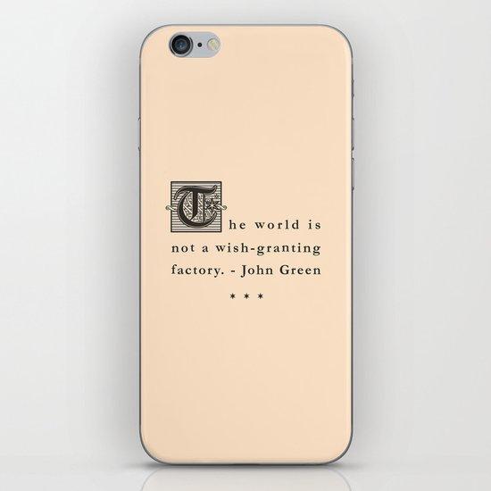 Wish-Granting Factory iPhone Skin