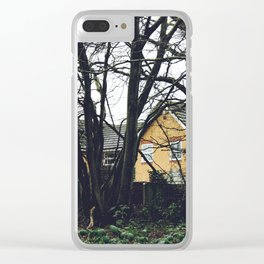 Houses in the forest Clear iPhone Case