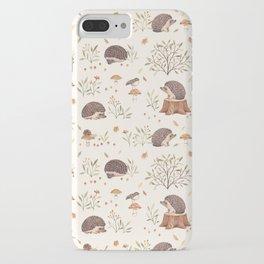 Little Hedgehog iPhone Case