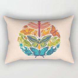 Bugs & Butterflies Rectangular Pillow