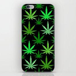 Marijuana Green Weed iPhone Skin