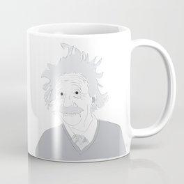 Albert Einstein Illustration Coffee Mug