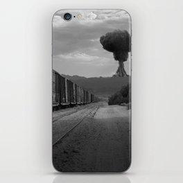 Nuke Train iPhone Skin