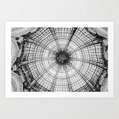 Glass dome Art Print