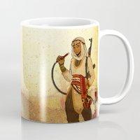aladdin Mugs featuring Modern Day Aladdin by Sako Tumi
