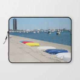 Chicago, Chicago shoreline, Skyline, Lake Michigan Laptop Sleeve