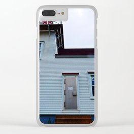 Lighthouse in North-Rustico Clear iPhone Case