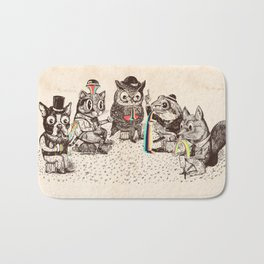 Strange Animals Bath Mat