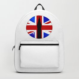 Union Jack Button Backpack