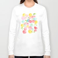 cherry blossom Long Sleeve T-shirts featuring cherry blossom by zeze