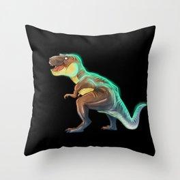 T-REX dinosaur Throw Pillow