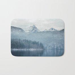Lake and mountains - Bavarian Alps Bath Mat