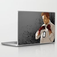 dexter Laptop & iPad Skins featuring Dexter by Elena Casagrande