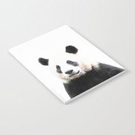 Panda Watercolor Panda Bear Portrait Notebook