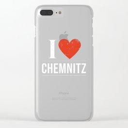I Love Chemnitz Clear iPhone Case