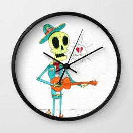 Broken Mariachi Wall Clock
