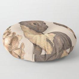 The Marten and Foxglove Floor Pillow