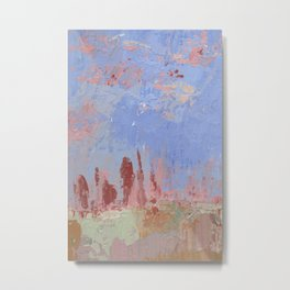 Standing Stone Circle in Pastels Metal Print