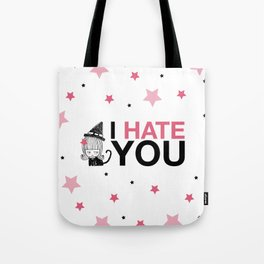I Hate You / Witch Tote Bag