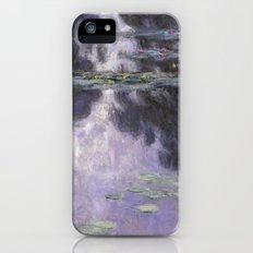 Water Lilies by Claude Monet iPhone SE Slim Case