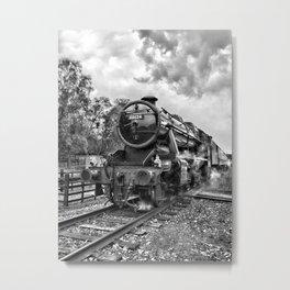 48624 Stanier - mono Metal Print