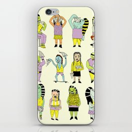 KIDS AND PIZZA iPhone Skin