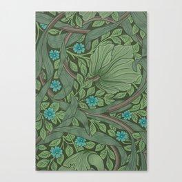 """William Morris """"Forget-Me-Nots"""" (""""Pimpernel"""" detail) Canvas Print"""