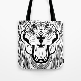 The Four Eyed Lion Tote Bag
