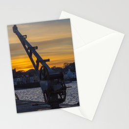 Donaghadee Crane - Sunset Stationery Cards