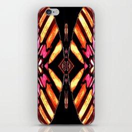 Sunburst Diamond on Black,Yellow,Pink,Red,Tan,Orange iPhone Skin