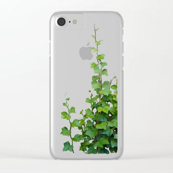 By the wall Clear iPhone Case
