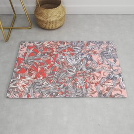 'A world of made is not a world of born' Rug